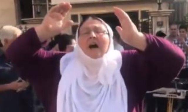 سيدة كردية تعلن أردوغان