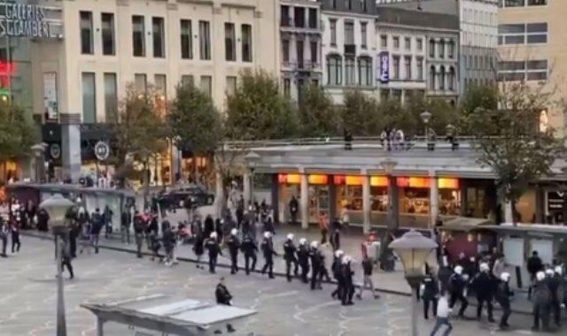 شجار بين أتراك وأكراد فى بلجيكا بسبب العدوان التركى على سوريا
