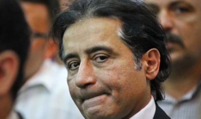 رجل الأعمال أحمد عز