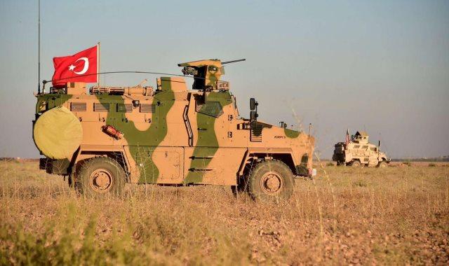 قوات العدوان التركى