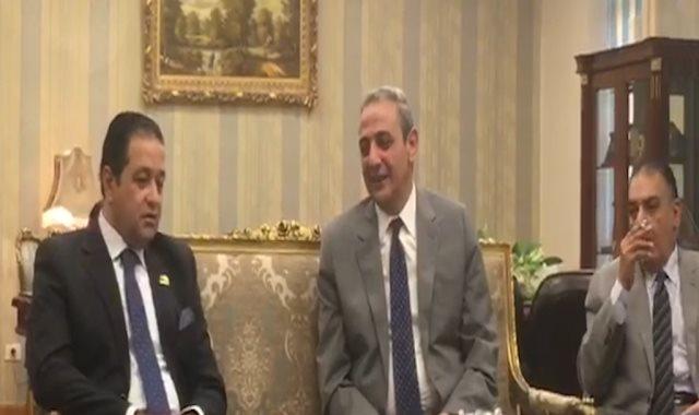 رئيس لجنة حقوق الإنسان ومدير أمن الاسكندرية: