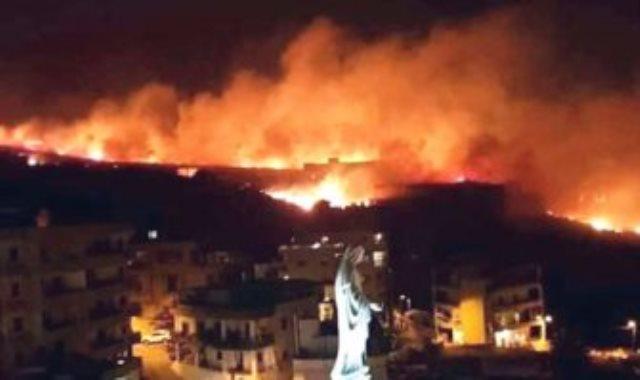 لبنان تحترق