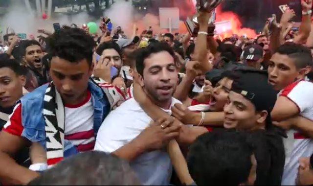 جماهير الزمالك , احمد الاحمر