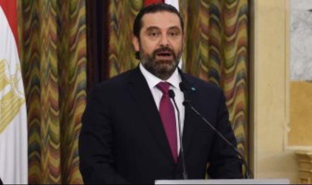 رئيس الحكومة اللبنانية سعد الحريرى