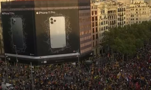 مظاهرات برشلونة
