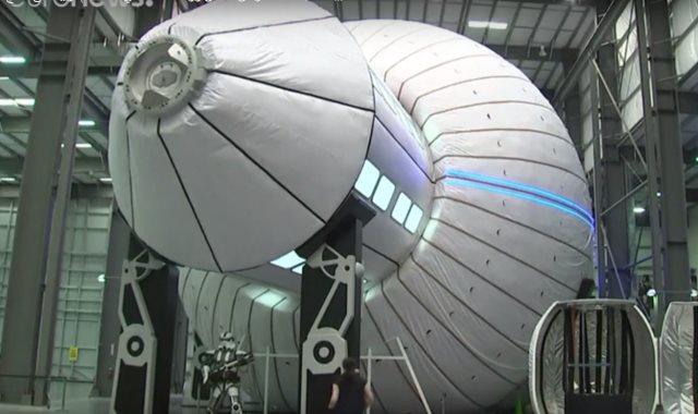مساكن رواد الفضاء