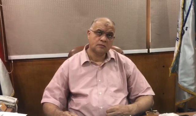 المهندس خالد الفقي، عضو مجلس إدارة الشركة القابضة للصناعات المعدنية