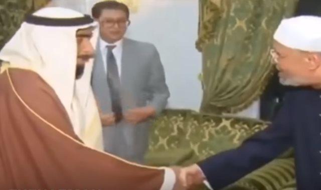 الشيخ الشعراوى والشيخ زايد