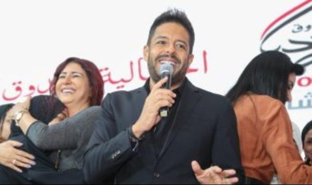الفنان محمد حماقى