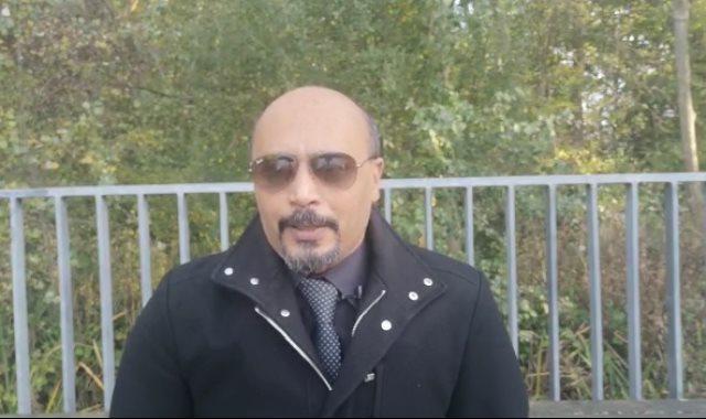 الدكتور يوسف عبد القادر أحد المصريين المقيمين في بلجيكا
