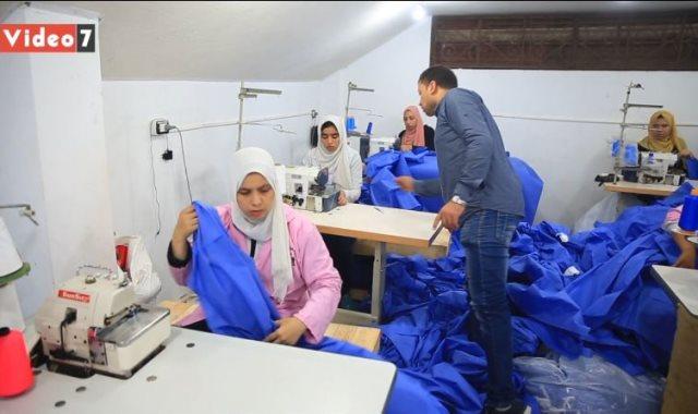 مشروع ملابس