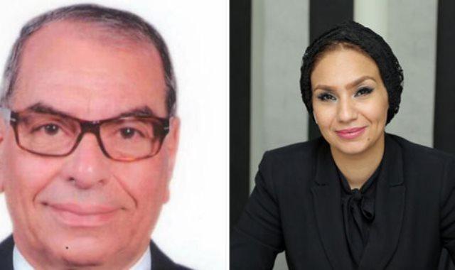 الدكتور مختار الظواهرى والدكتورة ياسمين الكاشف