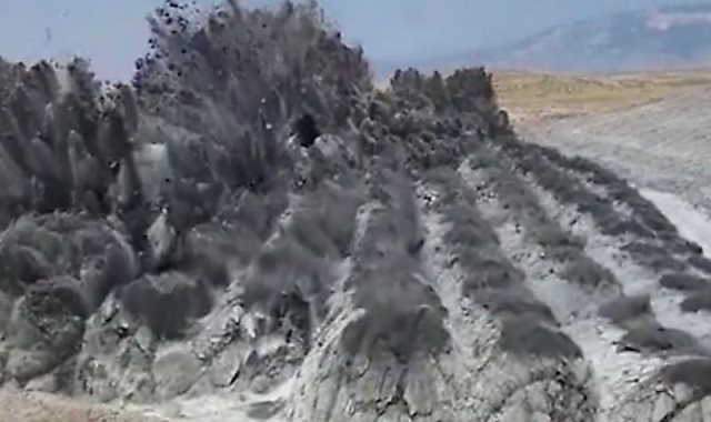 انفجار ضخرى