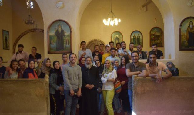 رحلة طلاب جامعة مصر