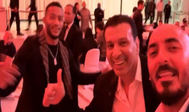 محمد رمضان ولويس فيجو وإيتو والحسينى
