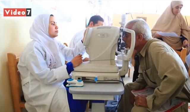 قوافل طبية للكشف على المواطنين بالقناطر الخيرية