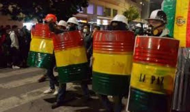 مظاهرات بوليفيا