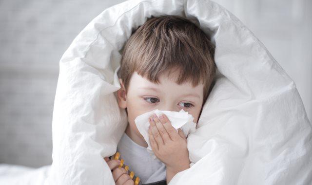 انخفاض حرارة الأطفال