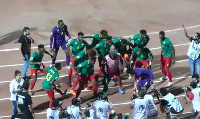 رقصة منتخب الكاميرون