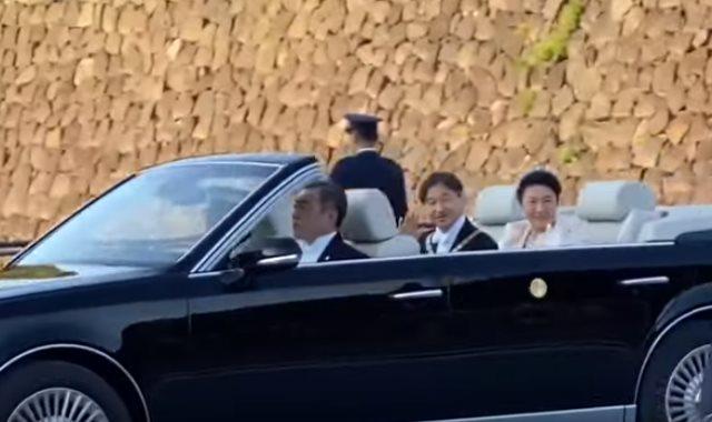 موكب الإمبراطور اليابانى الجديد
