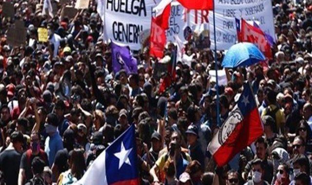 المظاهرات فى تشيلي