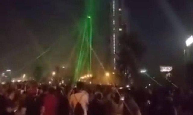 محتجون يسقطون طائرة فى تشيلي