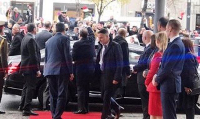 الرئيس السيسى يصل مقر انعقاد قمة العشرين وأفريقيا بألمانيا
