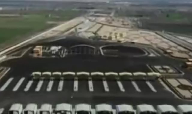 السيسي يشاهد فيلما تسجيليا خلال افتتاح مشروعات فى بورسعيد