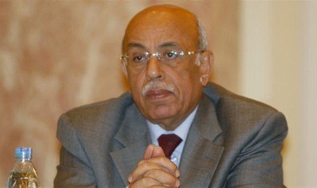 الدكتور مفيد شهاب رئيس الجمعية المصرية للقانون الدولي