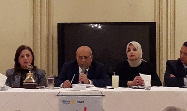 الدكتور مفيد شهاب أستاذ القانون الدولى بجامعة القاهرة
