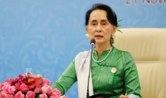 زعيمة ميانمار