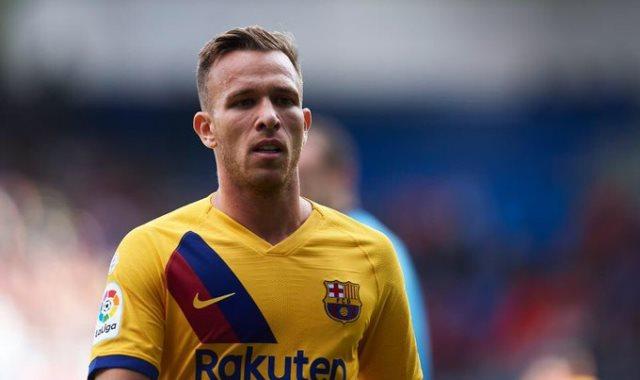 ارثر لاعب برشلونة