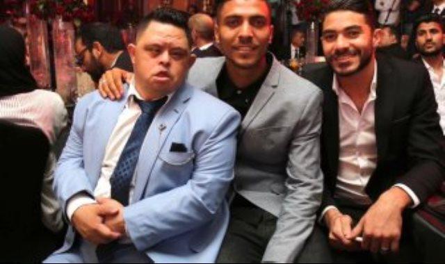 أمح مع ياسر إبراهيم في حفل توقيع كهربا