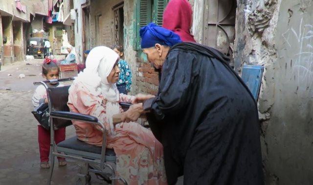 """""""أكبر معمرة بالقاهرة"""""""