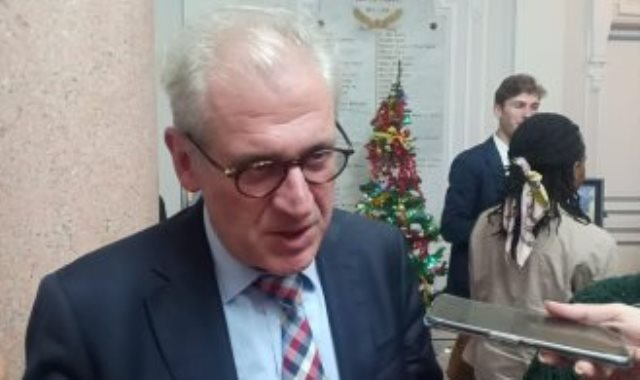 لوران دى بوك رئيس بعثة المنظمة الدولية للهجرة فى مصر
