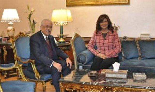 لقاء وزير التربية والتعليم ووزيرة الهجرة