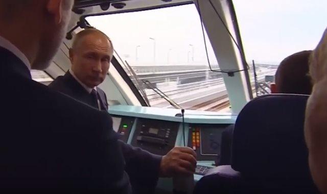 بوتن يفتتح الجسر