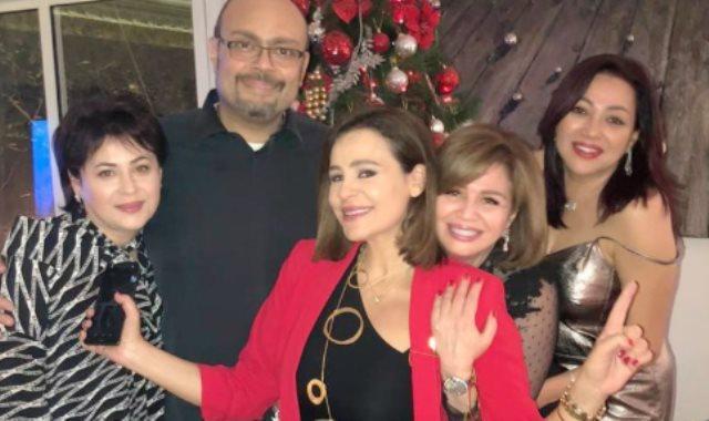 كارول سماحة تقضي الكريسماس في مصر