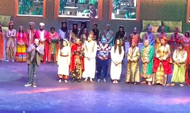 كواليس مسرحية علاء الدين