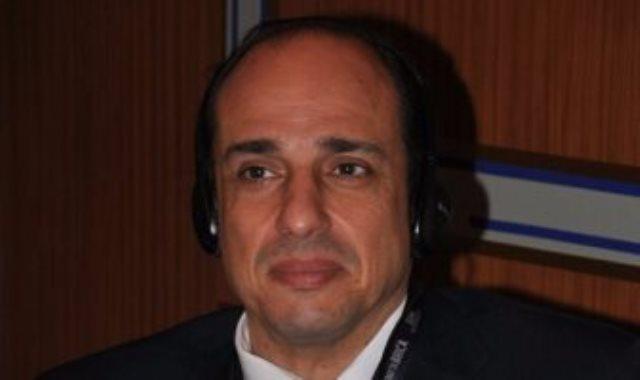 المهندس أحمد منير عز الدين رئيس لجنة تنمية العلاقات مع الصين بجمعية رجال الأعمال