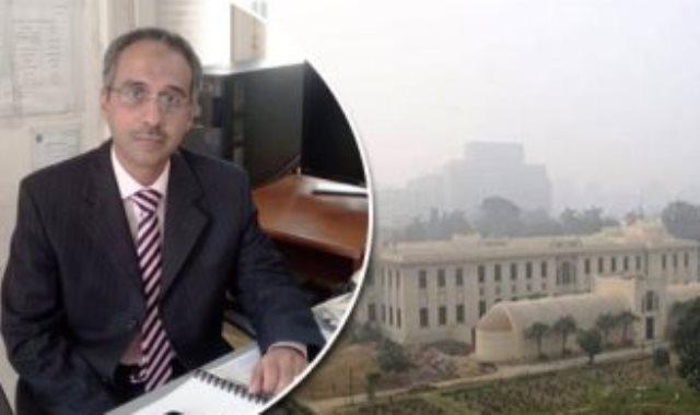 محمود شاهين مدير إدارة التنبؤات الجوية بالهيئة العامة للأرصاد الجوية