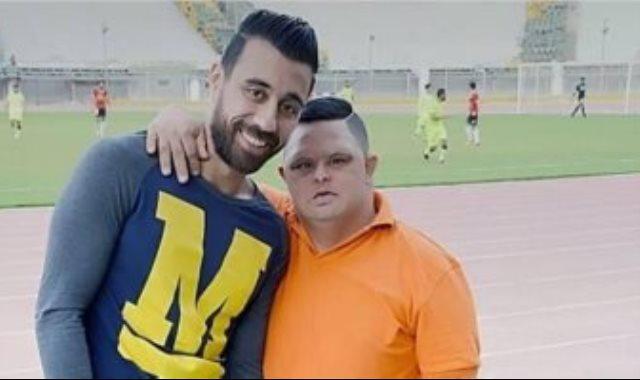 امح مع مهاجم مصر المقاصة