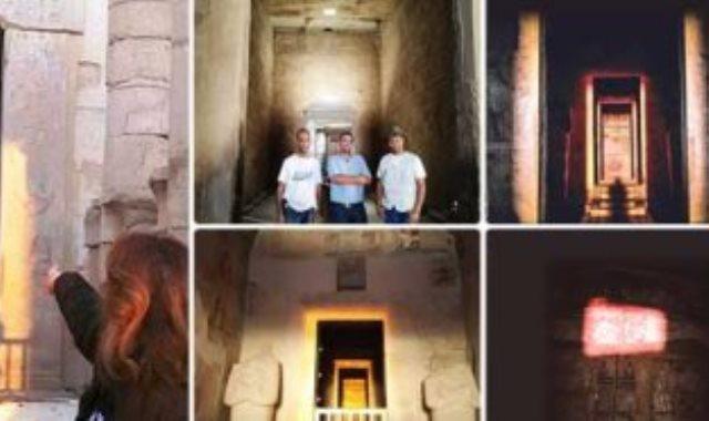 معبد حتشبسوت وظاهرة تعامد الشمس