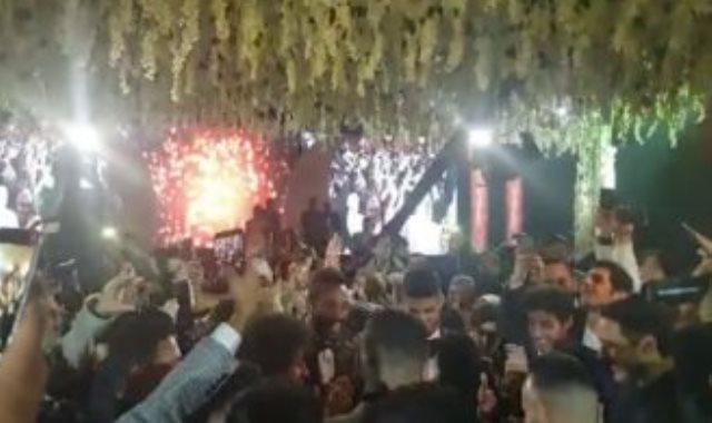 من حفل زفاف أحمد الشيخ