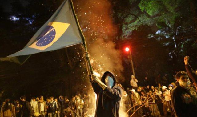 احتجاجات البرازيل - أرشيفية