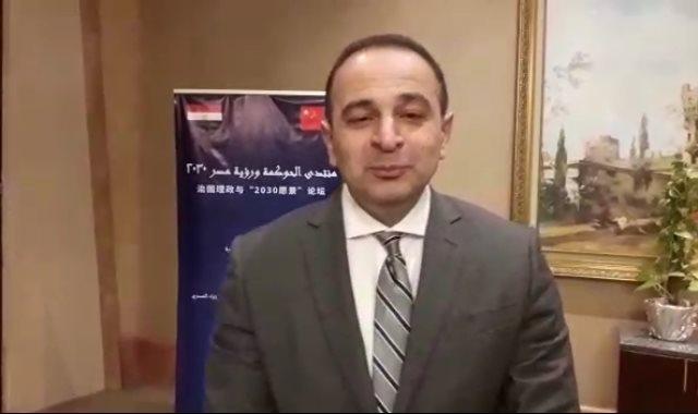 الدكتور أحمد كمالى، نائب وزيرة التخطيط والتنمية الاقتصادية