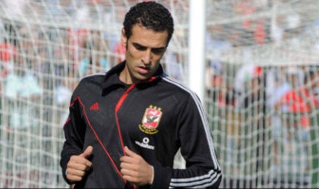 محمود ابو السعود حارس المقاولون العرب