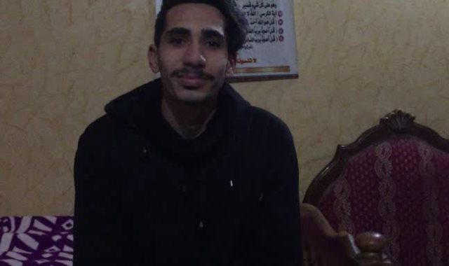 اللاعب أحمد رمضان حجاج