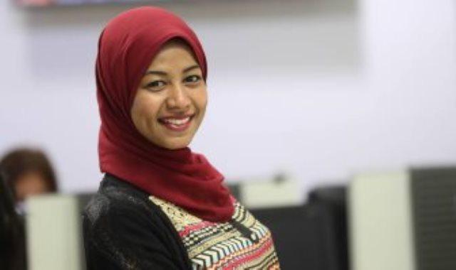 الكاتبة نهير عبد النبى