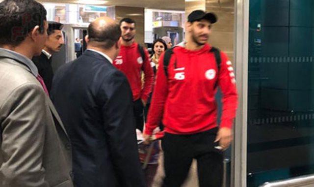 وصول بعثة منتخب كرة اليد لمطار القاهرة بعد التتويج ببطولة افريقيا